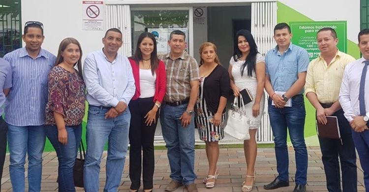 REUNIÓN CON LA DIRECCIÓN DE DESARROLLO TURISTICO DEL MUNICIPIO DE PORTOVIEJO.
