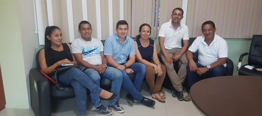 REUNIÓN GAD ALHAJUELA Y TENENCIA POLÍTICA.