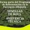 PROGRAMA DE REFORESTACIÓN DE PLANTACIONES DE BOYA CON FINES COMERCIALES.